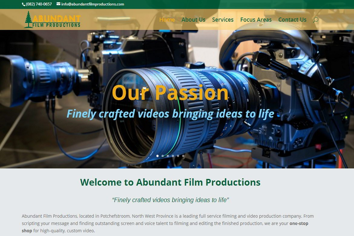 Abundant Film Productions - Potchefstroom, South Africa