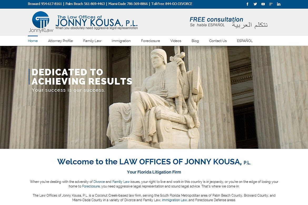 Law Offices Jonny Kousa - Coconut Creek, FL